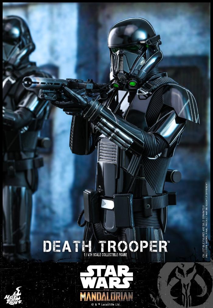 Death Trooper Figure - 1:6 - The Mandalorian Hot Toys 87024510