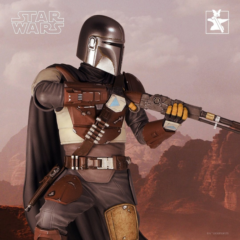 The Mandalorian MKI Premium Statue - 1:6 - Gentle Giant 87050810