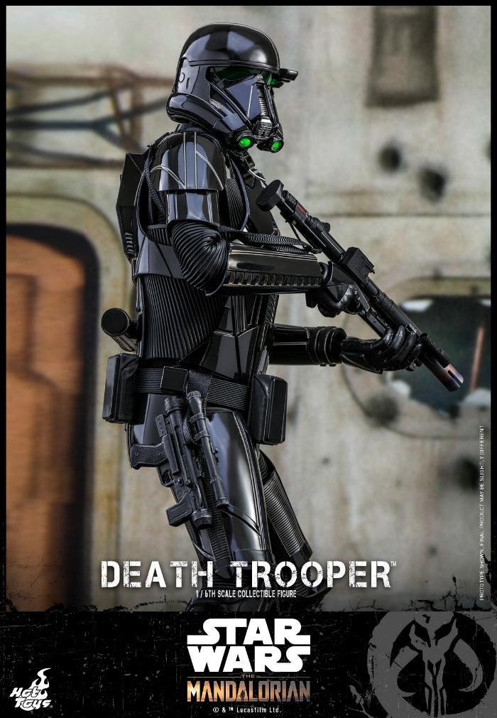 Death Trooper Figure - 1:6 - The Mandalorian Hot Toys 87384810