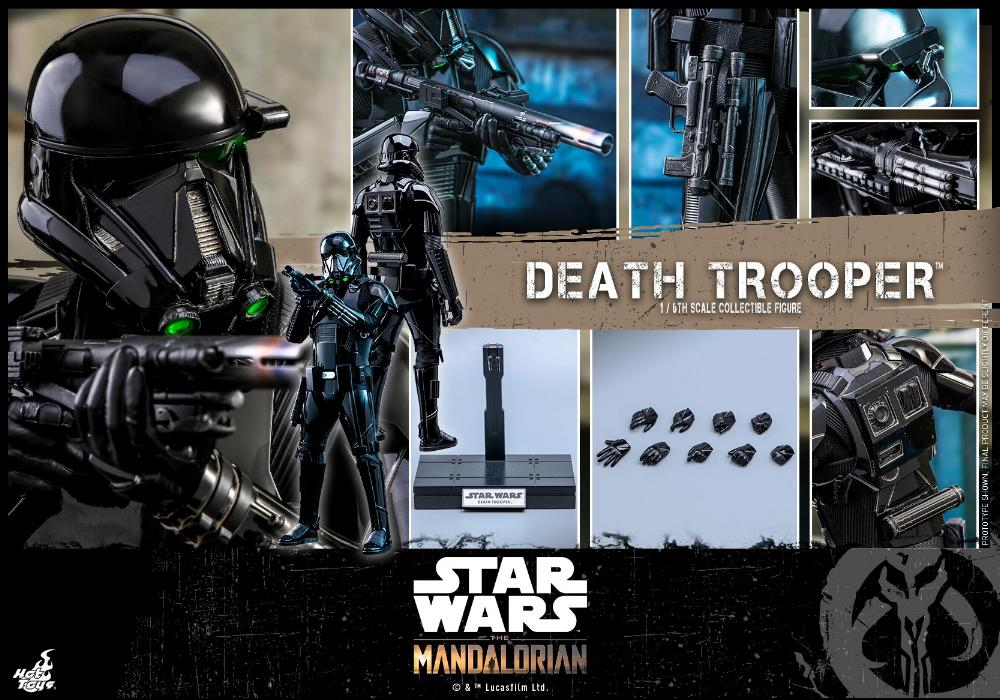 Death Trooper Figure - 1:6 - The Mandalorian Hot Toys 87394310