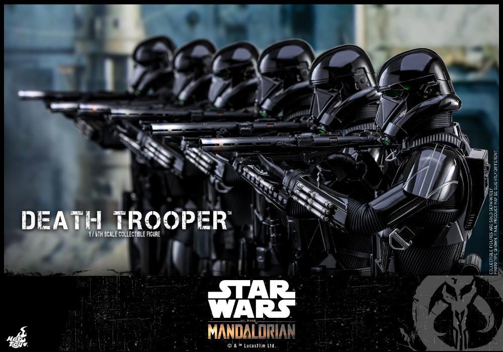 Death Trooper Figure - 1:6 - The Mandalorian Hot Toys 87441310