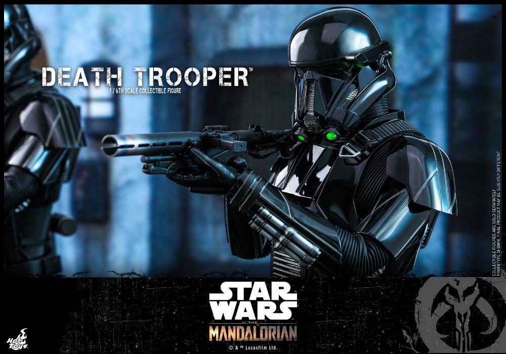 Death Trooper Figure - 1:6 - The Mandalorian Hot Toys 87720310