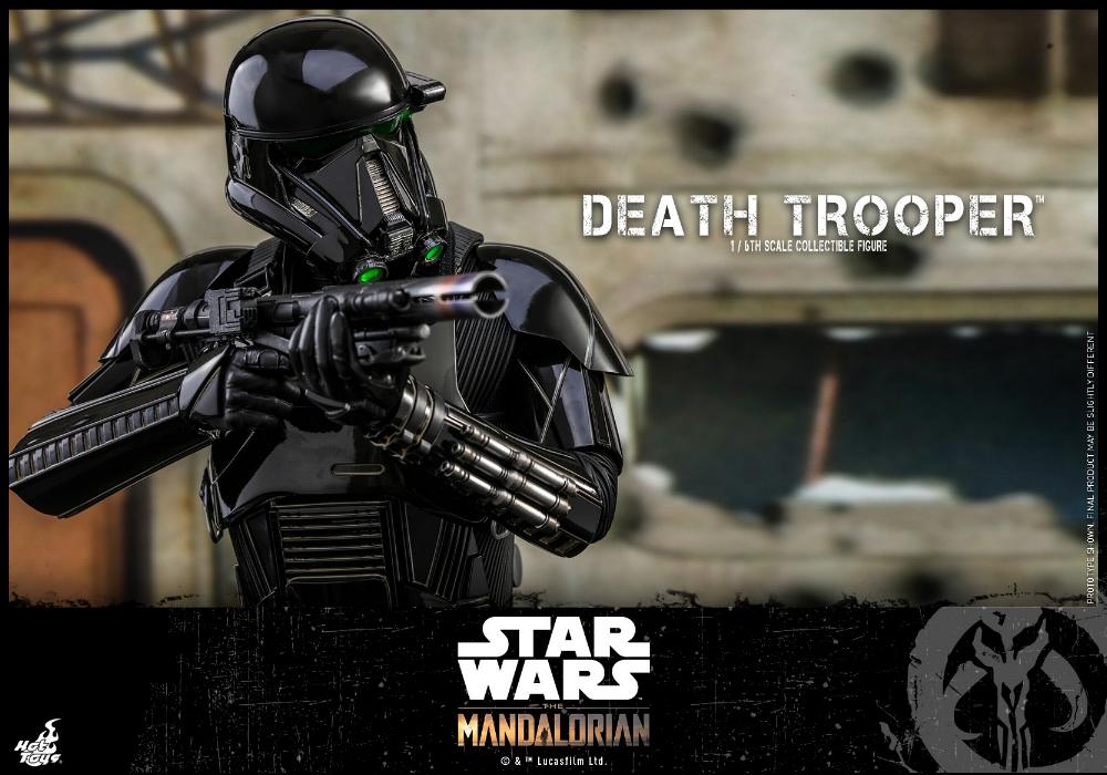 Death Trooper Figure - 1:6 - The Mandalorian Hot Toys 88963210