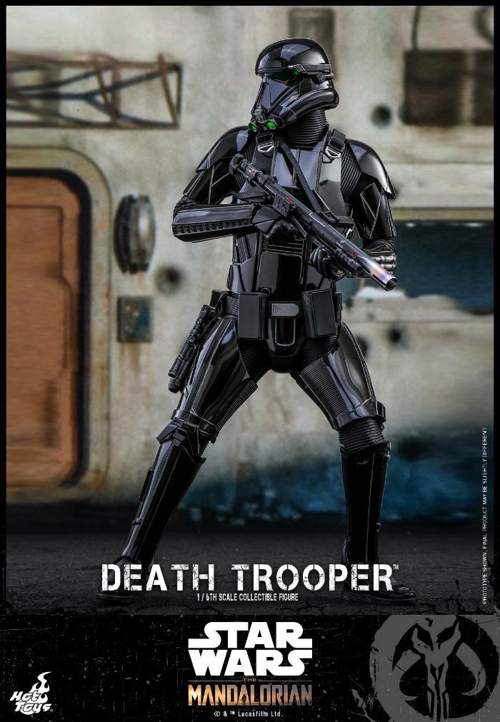 Death Trooper Figure - 1:6 - The Mandalorian Hot Toys 89004210