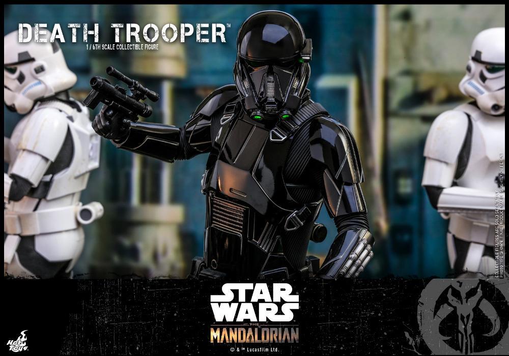 Death Trooper Figure - 1:6 - The Mandalorian Hot Toys 89027810