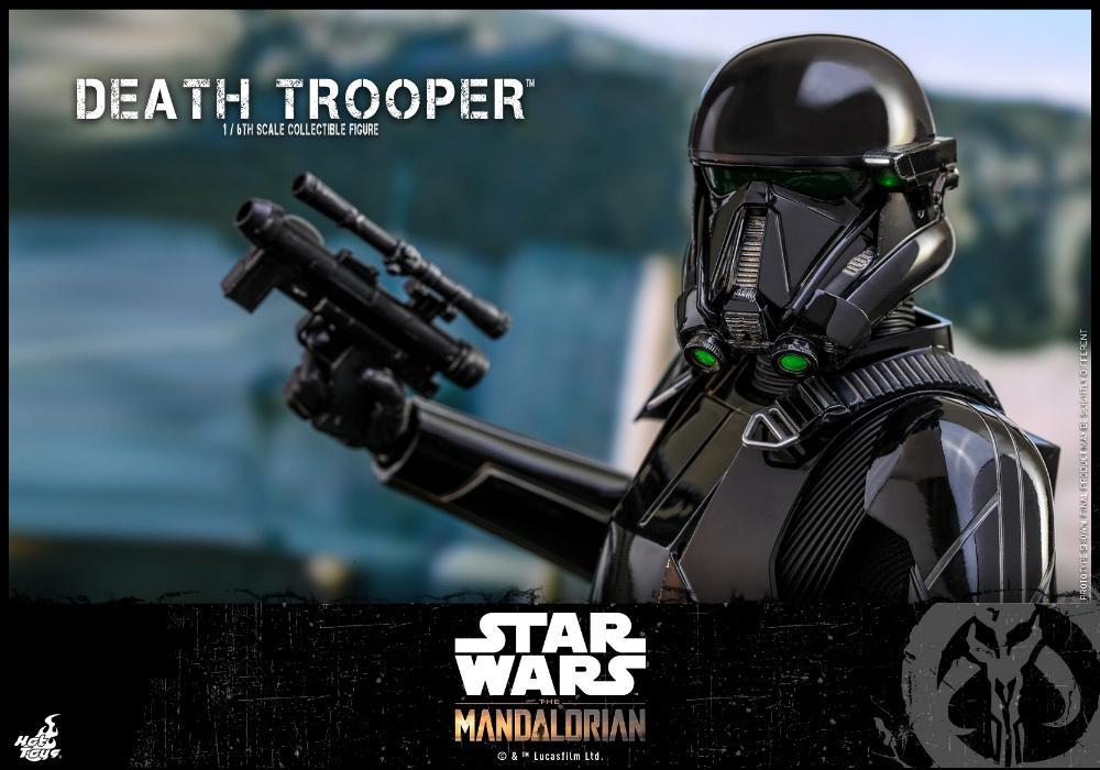Death Trooper Figure - 1:6 - The Mandalorian Hot Toys 89210010