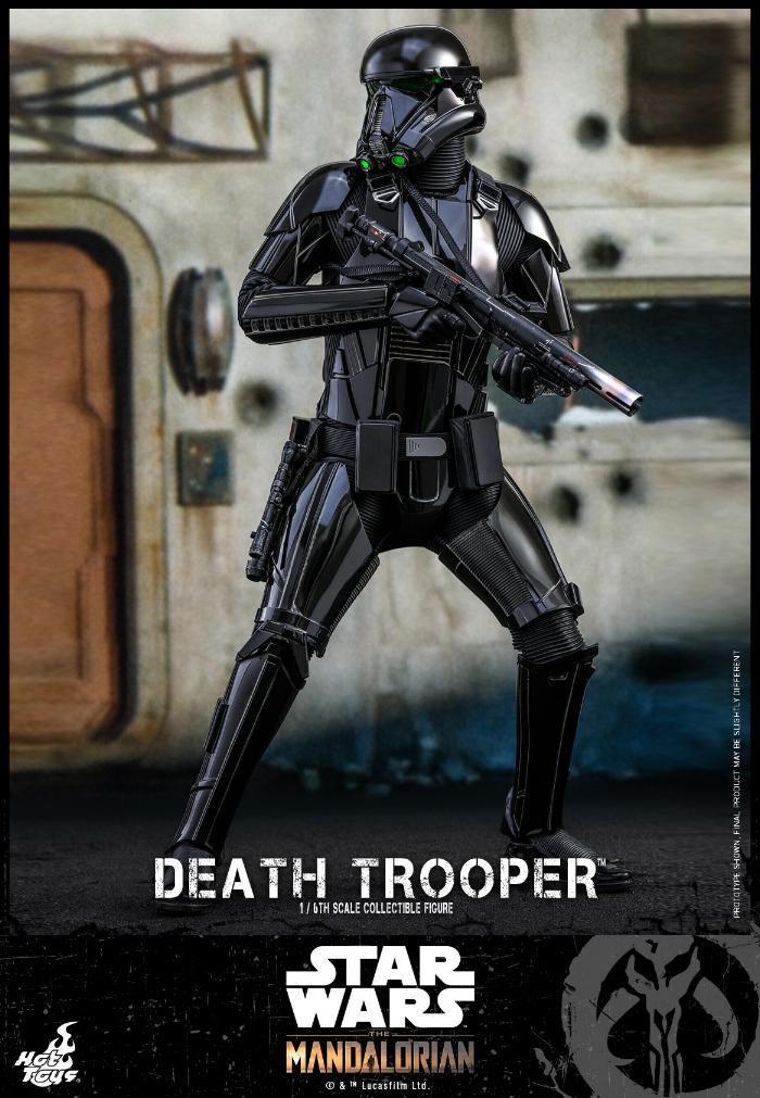 Death Trooper Figure - 1:6 - The Mandalorian Hot Toys 89337710
