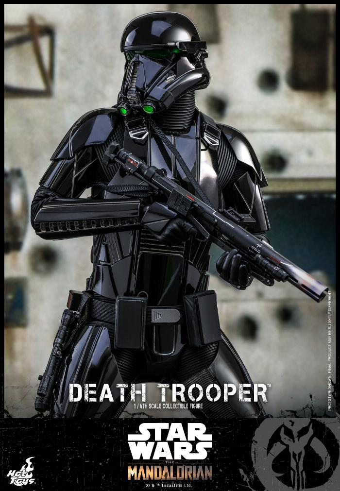 Death Trooper Figure - 1:6 - The Mandalorian Hot Toys 89372510