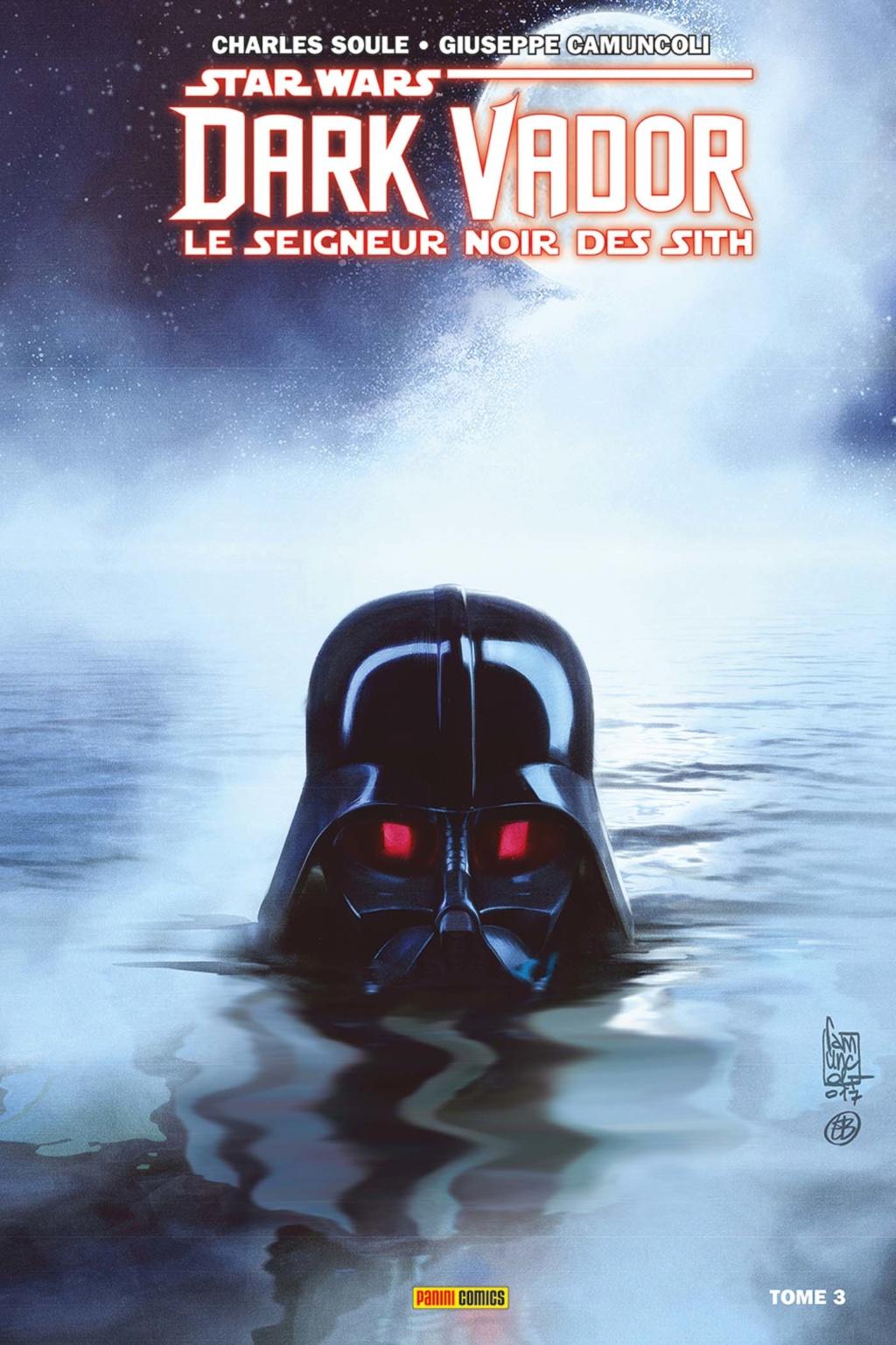 STAR WARS Dark Vador - Le Seigneur noir des Sith Tome 3  97828013