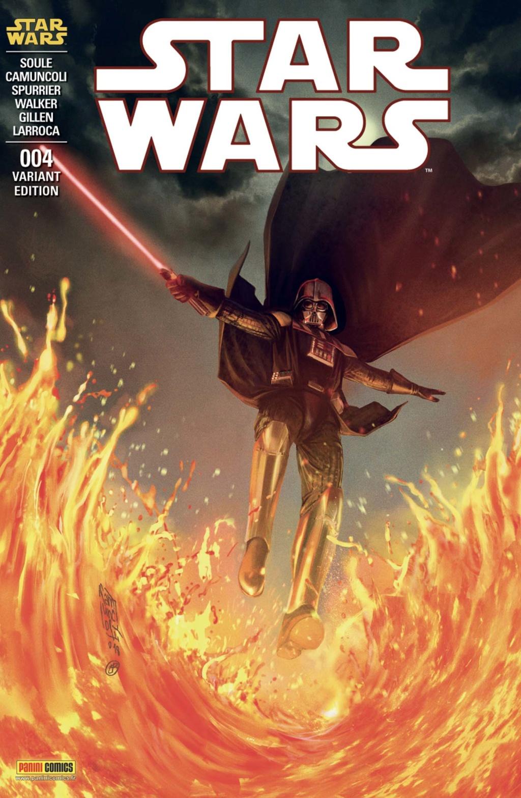MAGAZINE STAR WARS #04 V3 (29) PANINI - Juillet 2019  97828017