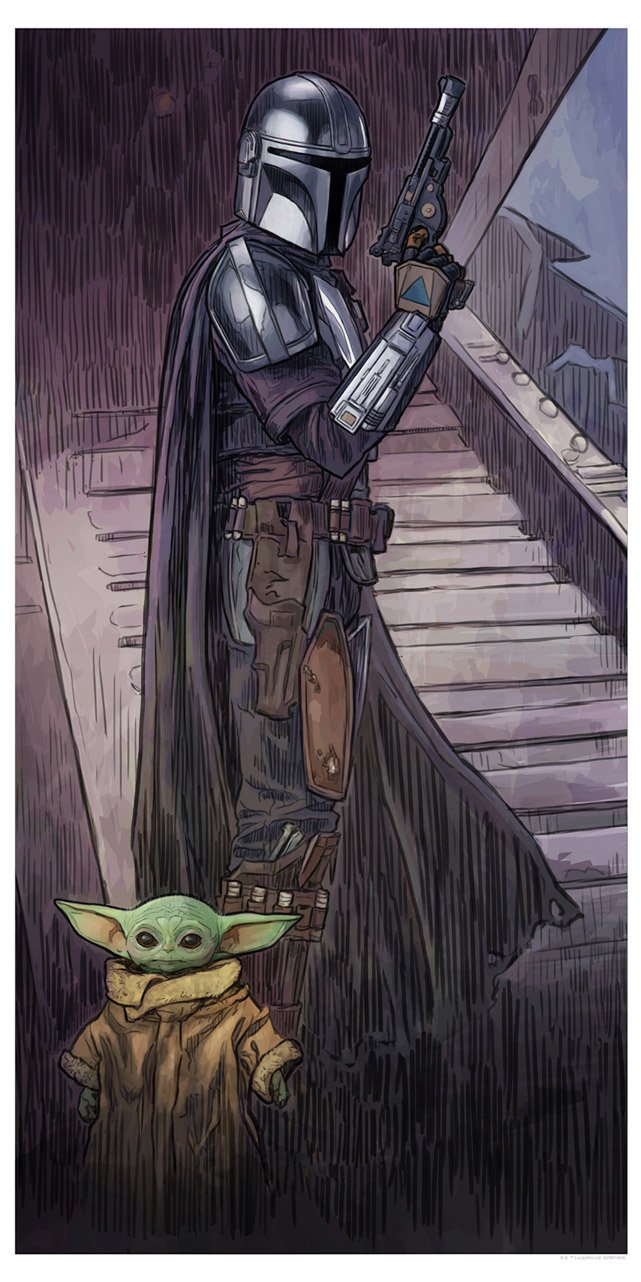 A Foundling In Your Care - Artwork Star Wars - ACME Archives A_foun10