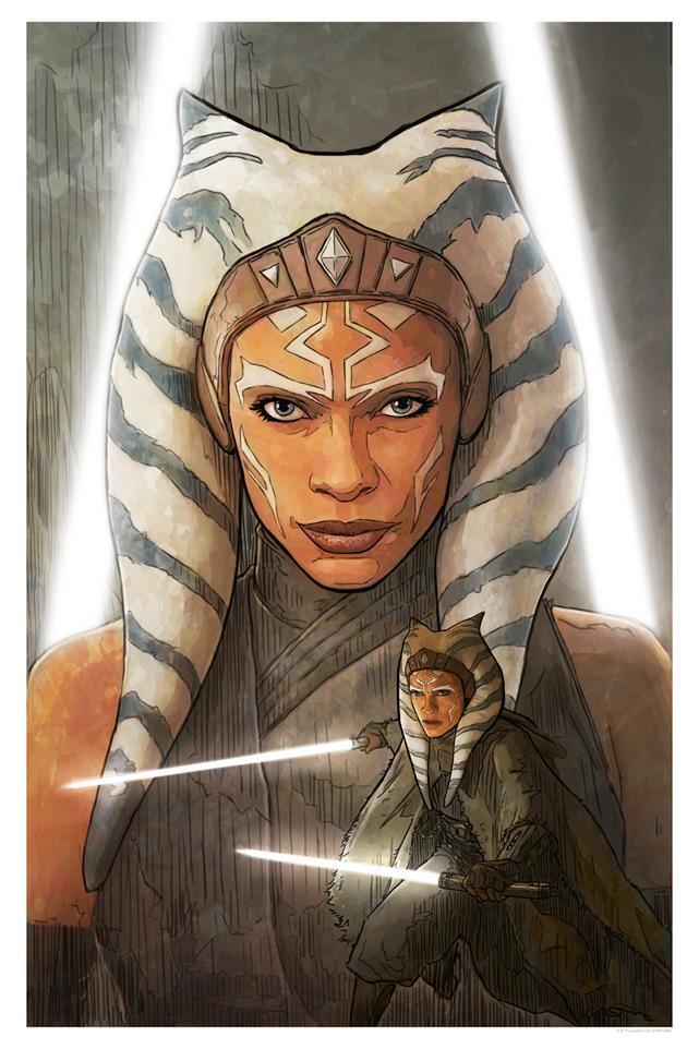 A Jedi Plagues Me - Artwork Star Wars - ACME Archives A_jedi10
