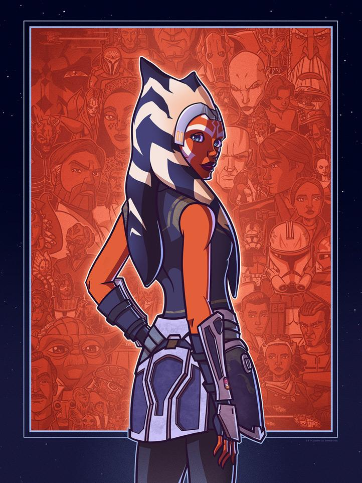 A Padawan's Journey - Artwork Star Wars - ACME Archives A_pada10