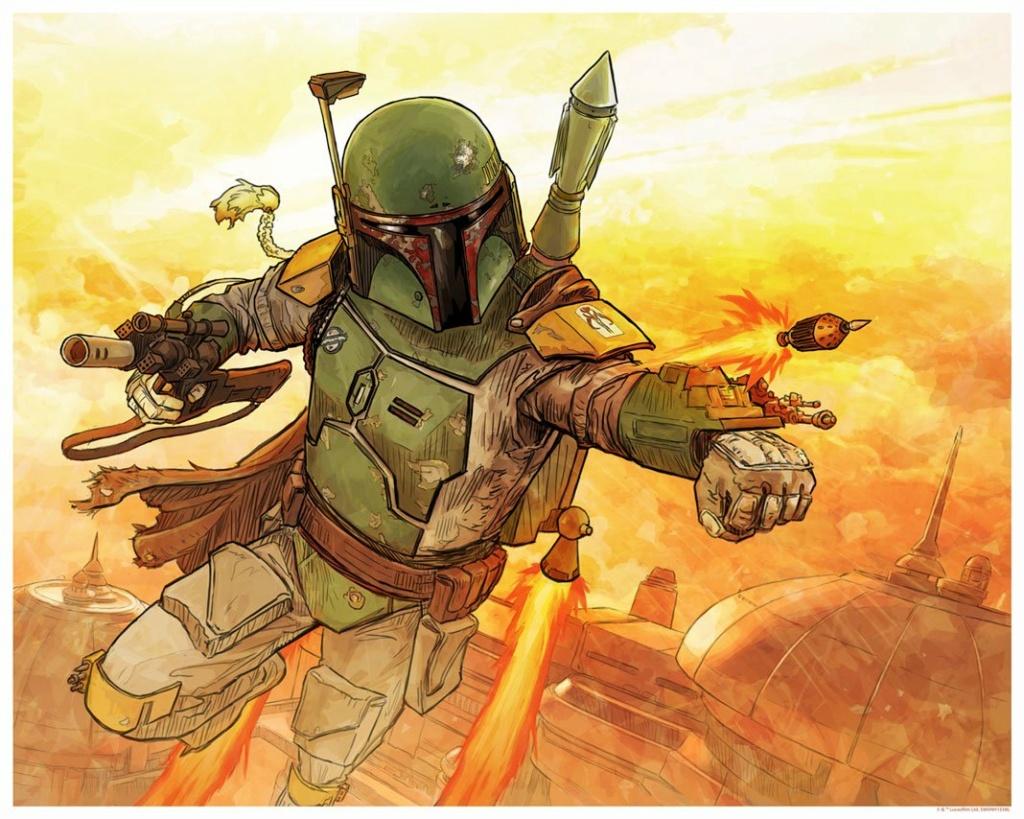 A Practical Man - Artwork Star Wars - ACME Archives A_prac10
