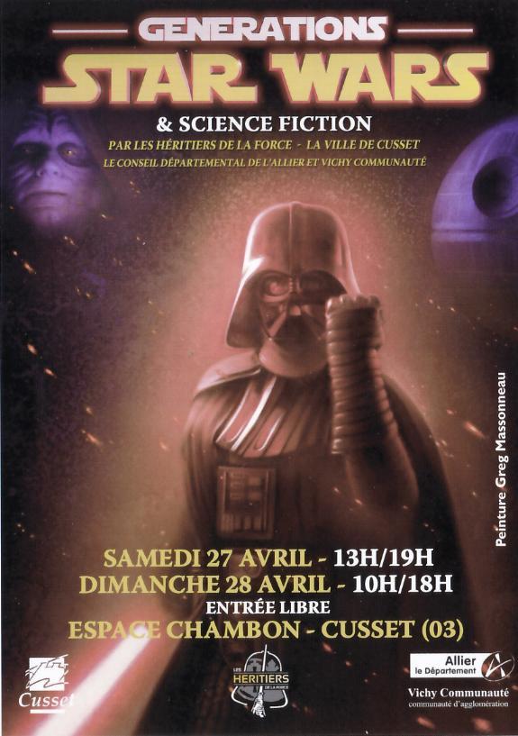 Générations Star Wars & SF - Cusset - 27-28 Avril 2019 Affich12