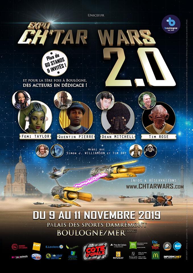 Expo CH'TAR WARS 2.0 Du 09 au 11 Novembre 2019 Affich16