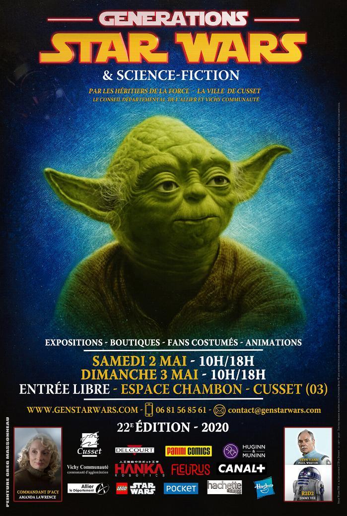 Générations Star Wars et SF 22 - 2 et 3 mai 2020 Affich19