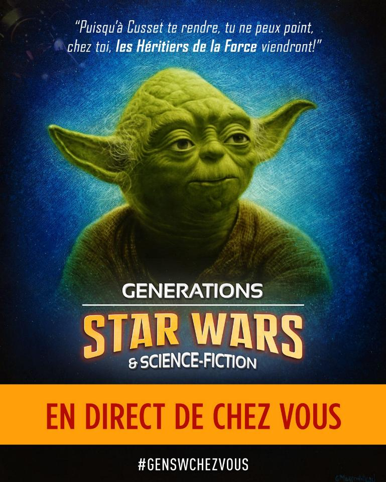 Générations Star Wars et SF 22 - 2 et 3 mai 2020 Affich20