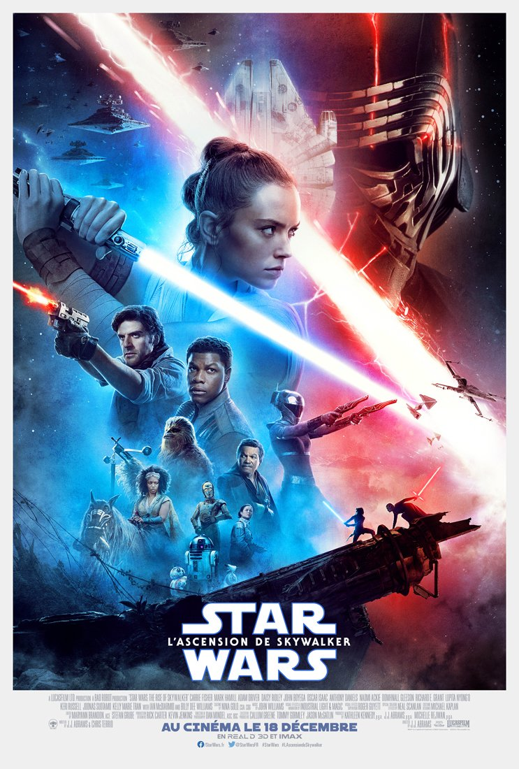 9 - DVD BR et BR 4K de Star Wars The Rise Of Skywalker Affich21