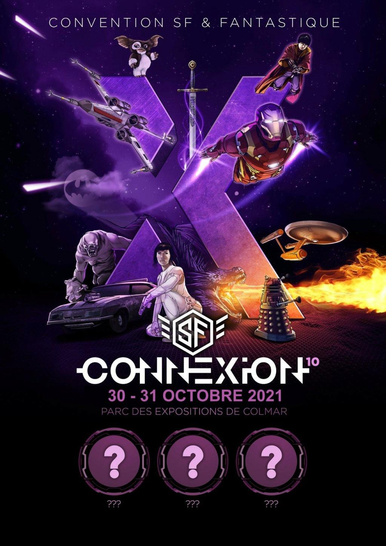 SF Connexion 10 - 30 & 31 octobre 2021 - Parc Expo de COLMAR Affich24
