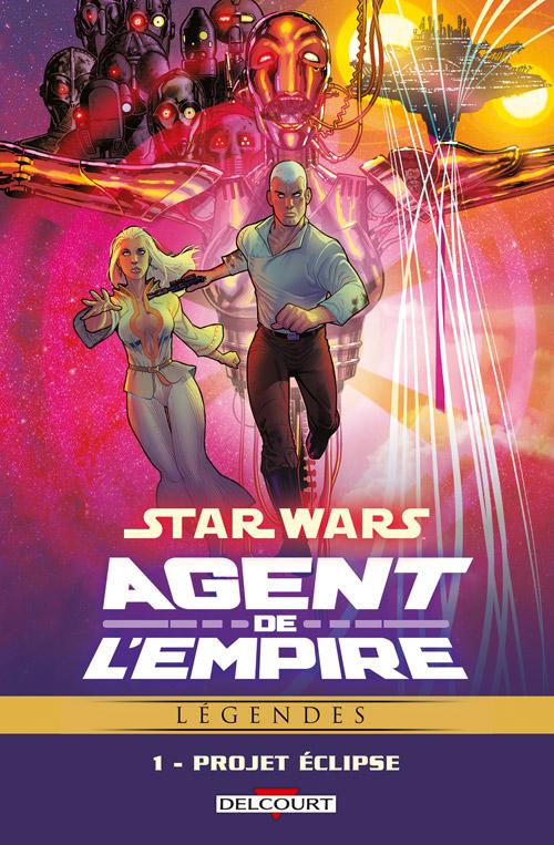 Intégrale Star Wars Agent de l'Empire - DELCOURT Agent_12