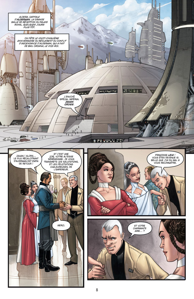 Intégrale Star Wars Agent de l'Empire - DELCOURT Agent_17
