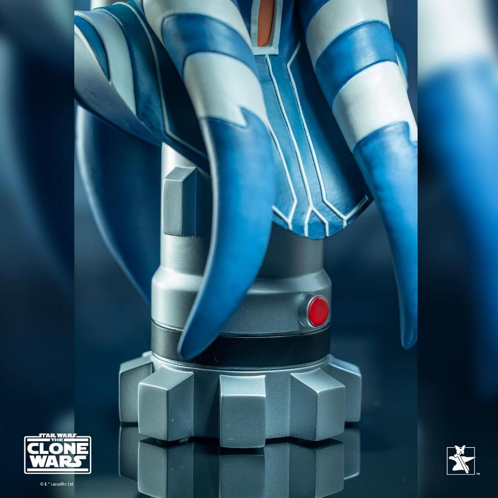Ahsoka Tano - Legends In 3-Dimensions Bust - Gentle Giant Ahsok133