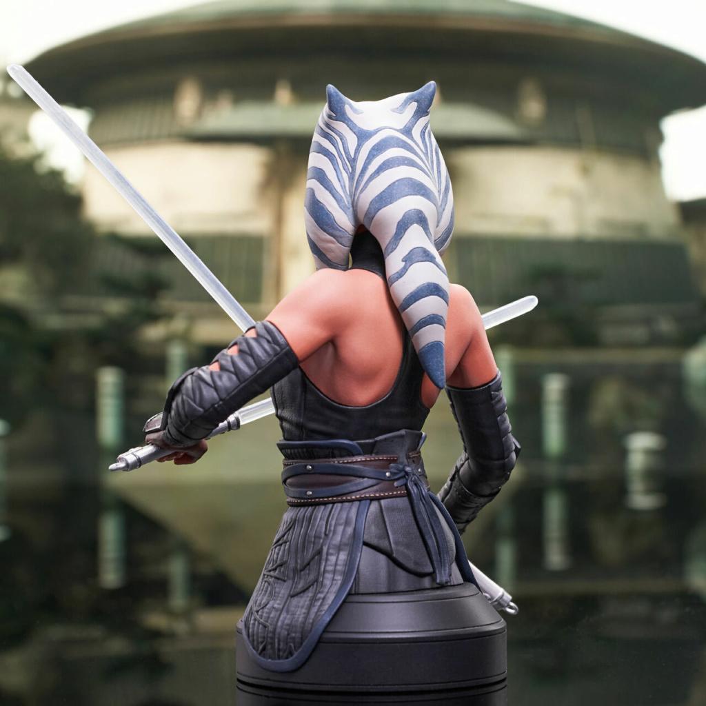 Ahsoka Tano Mini Bust - Star Wars The Mandalorian - GG Ahsok157