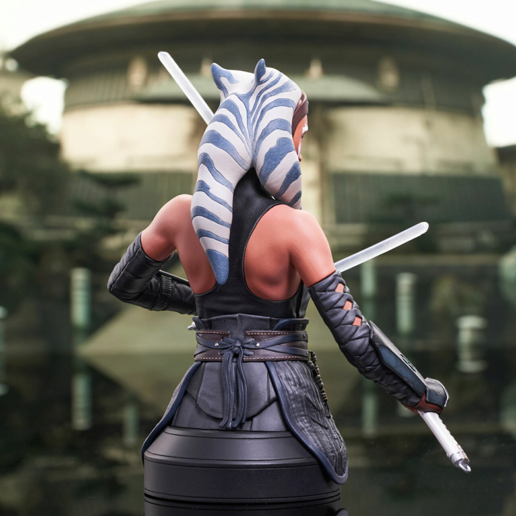 Ahsoka Tano Mini Bust - Star Wars The Mandalorian - GG Ahsok158
