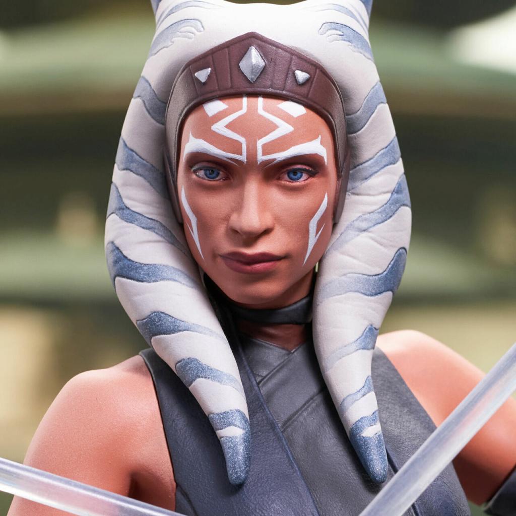 Ahsoka Tano Mini Bust - Star Wars The Mandalorian - GG Ahsok160