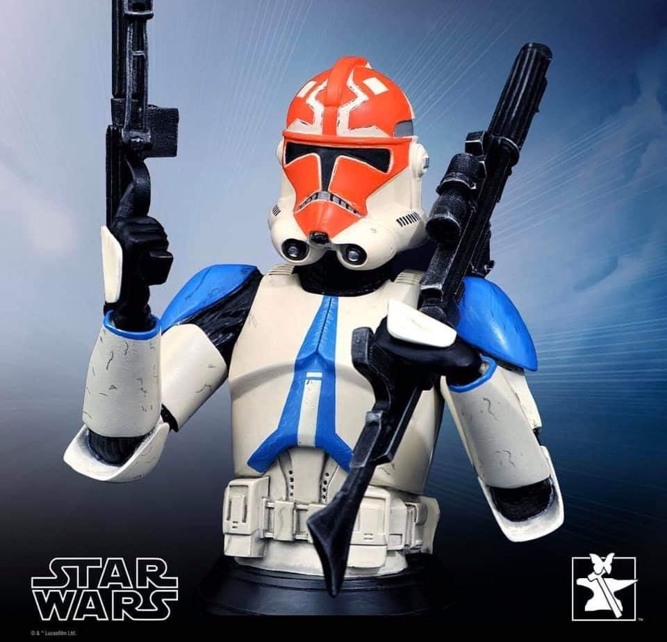 Ahsoka Trooper Mini Bust - Star Wars The Clone Wars Ahsoka14