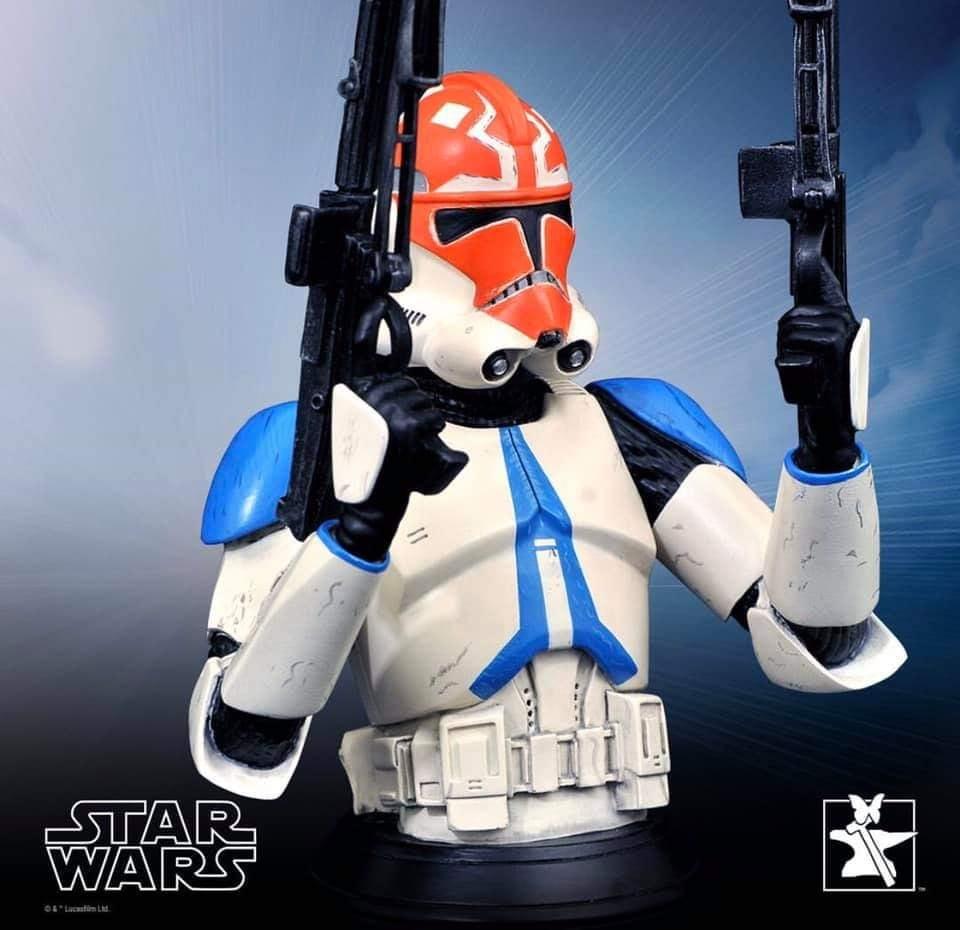 Ahsoka Trooper Mini Bust - Star Wars The Clone Wars Ahsoka15