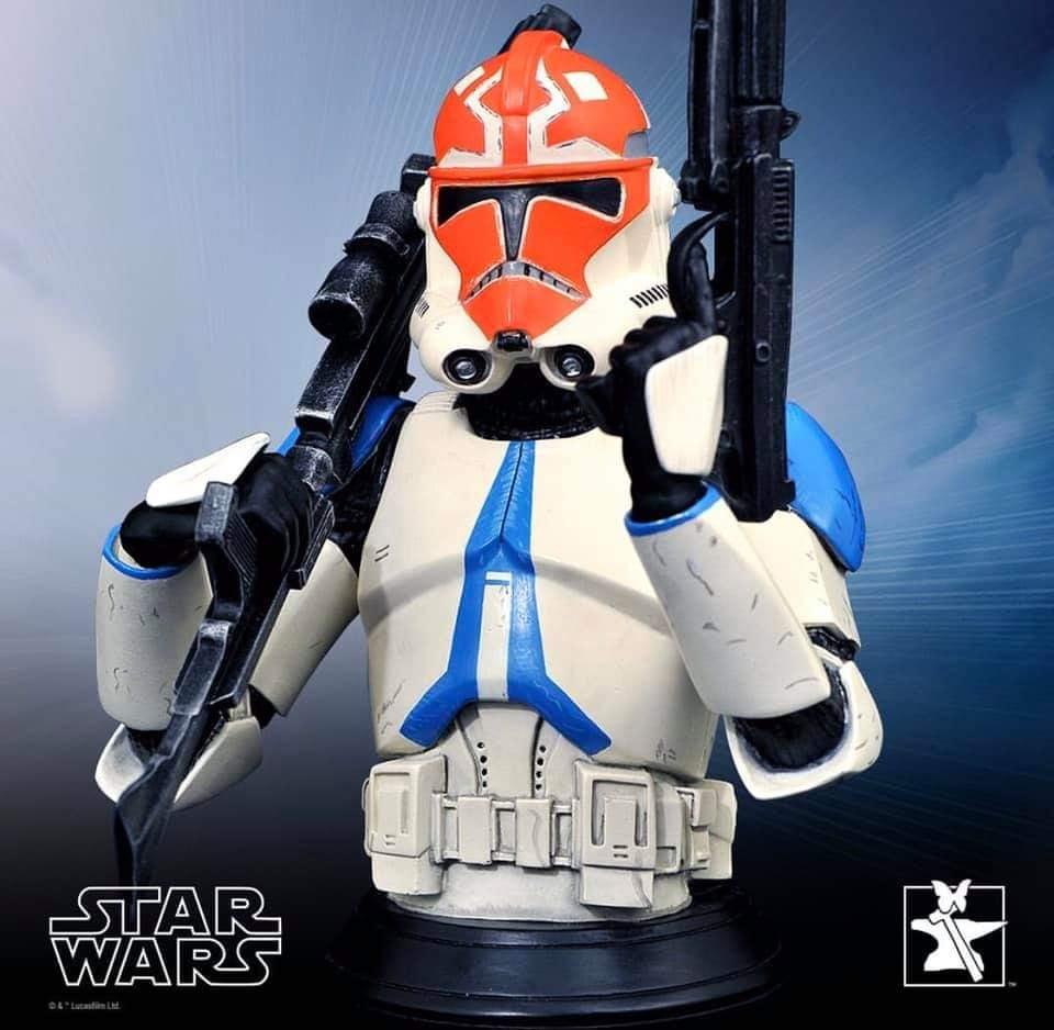 Ahsoka Trooper Mini Bust - Star Wars The Clone Wars Ahsoka17