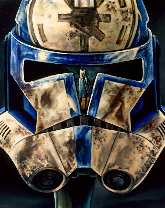 Ahsoka's Remorse - Artwork Star Wars - ACME Archives  Ahsoka42