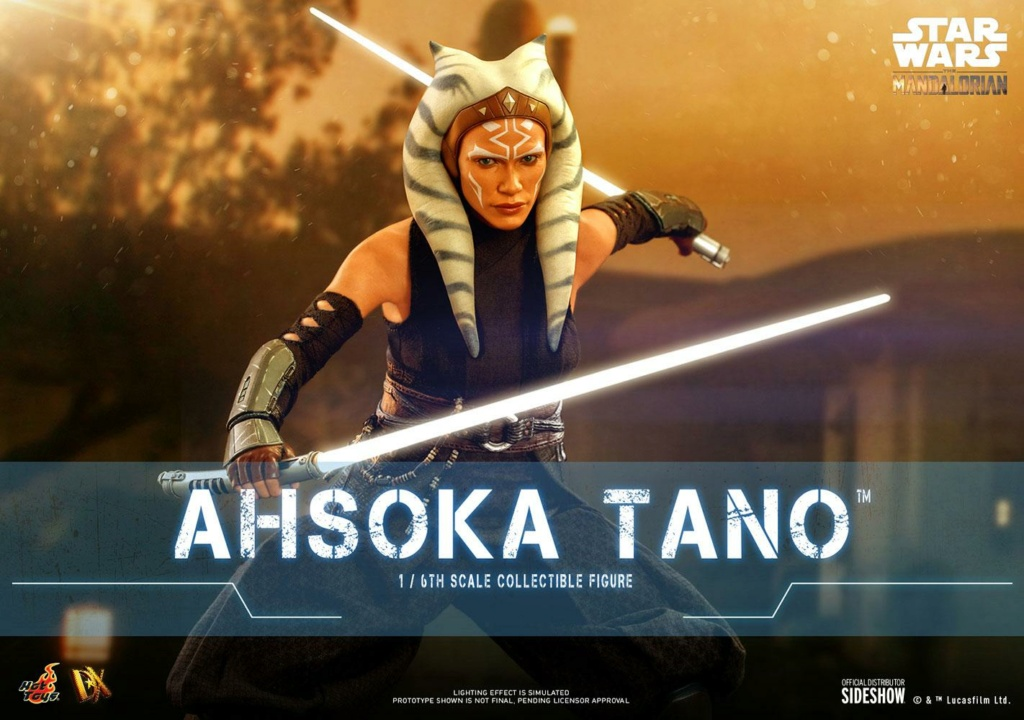 Ahsoka Tano Sixth Scale Figure DX Series - Hot Toys Ahsoka61