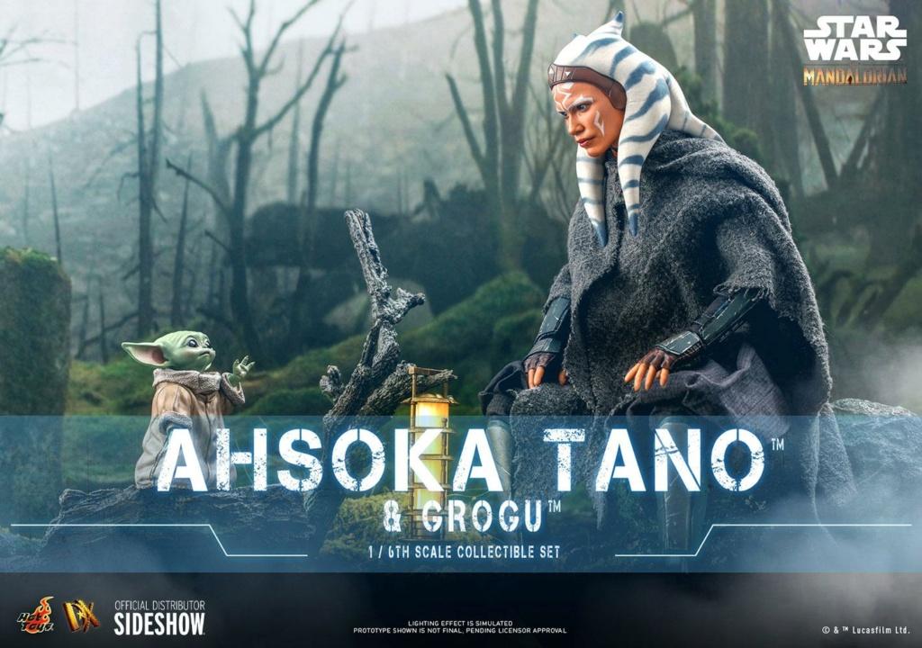 Ahsoka Tano and Grogu Sixth Scale Figure Set - Hot Toys Ahsoka62