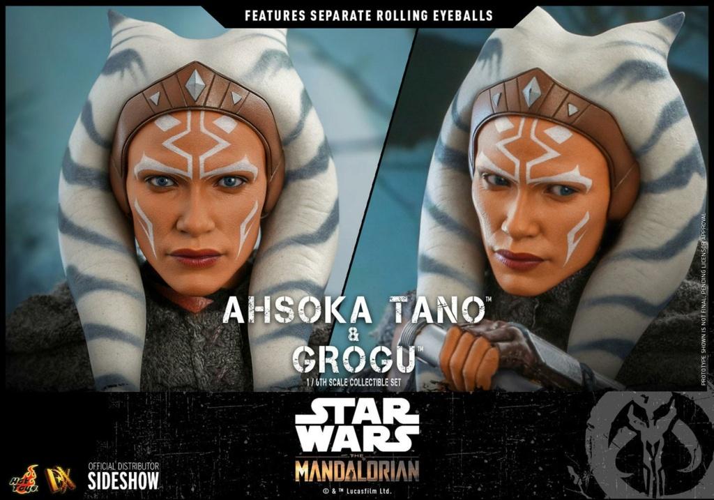 Ahsoka Tano and Grogu Sixth Scale Figure Set - Hot Toys Ahsoka73