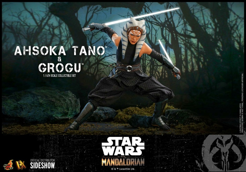 Ahsoka Tano and Grogu Sixth Scale Figure Set - Hot Toys Ahsoka76