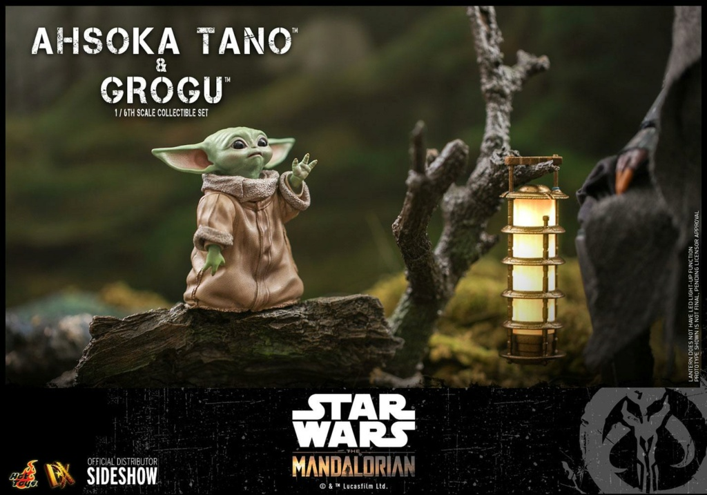 Ahsoka Tano and Grogu Sixth Scale Figure Set - Hot Toys Ahsoka79