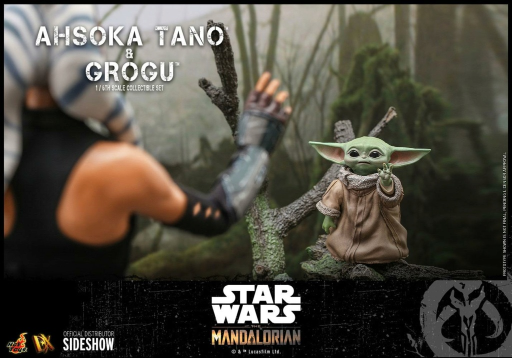 Ahsoka Tano and Grogu Sixth Scale Figure Set - Hot Toys Ahsoka80