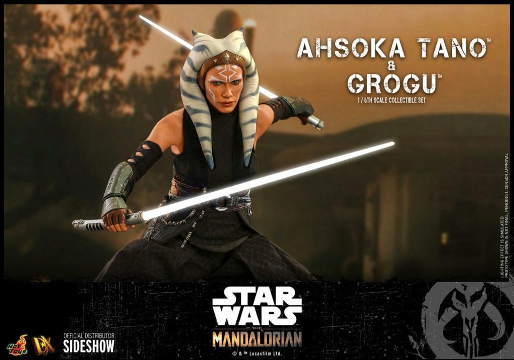 Ahsoka Tano and Grogu Sixth Scale Figure Set - Hot Toys Ahsoka83