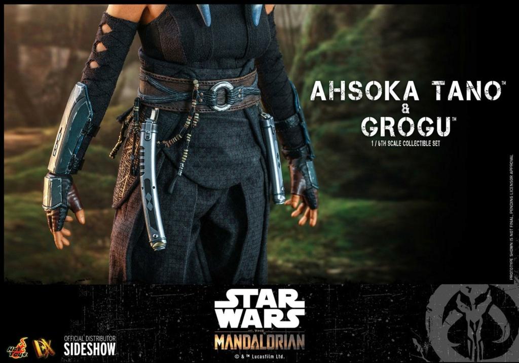 Ahsoka Tano and Grogu Sixth Scale Figure Set - Hot Toys Ahsoka84