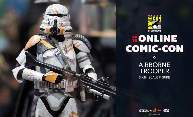 Hot Toys Star Wars - Airborne Trooper Sixth Scale Figure Airbor10