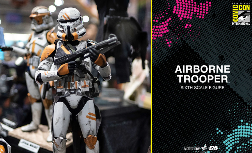 Hot Toys Star Wars - Airborne Trooper Sixth Scale Figure Airbor11