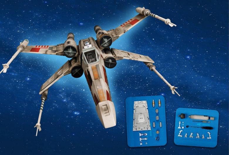 ALTAYA - Montez votre X-Wing Star Wars Altaya11