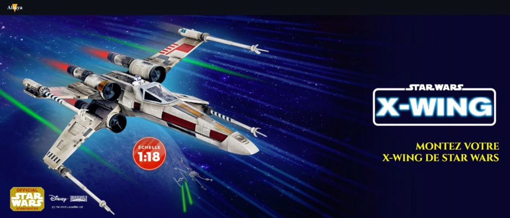 ALTAYA - Montez votre X-Wing Star Wars Altaya13