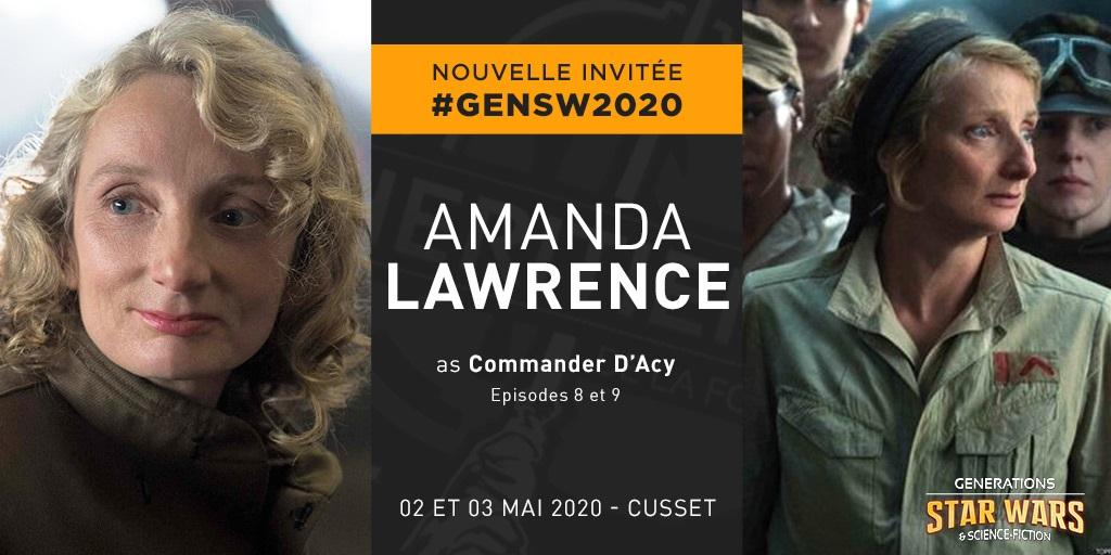 Générations Star Wars et SF 22 - 2 et 3 mai 2020 Amanda10