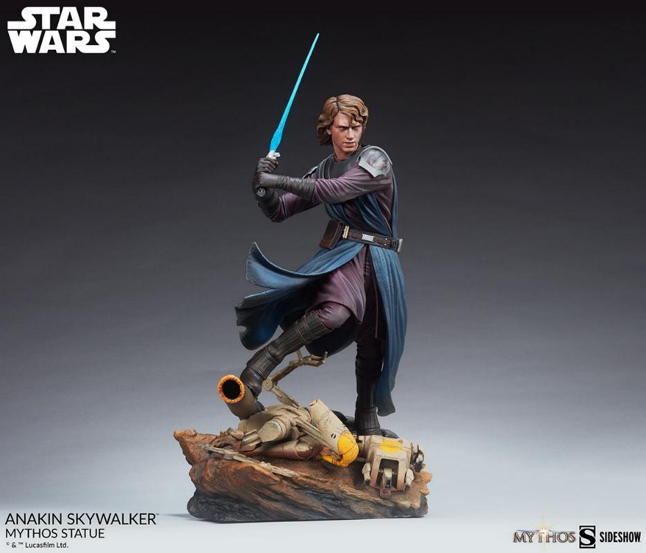Anakin Skywalker Mythos Statue - Star Wars Sideshow Anaki104