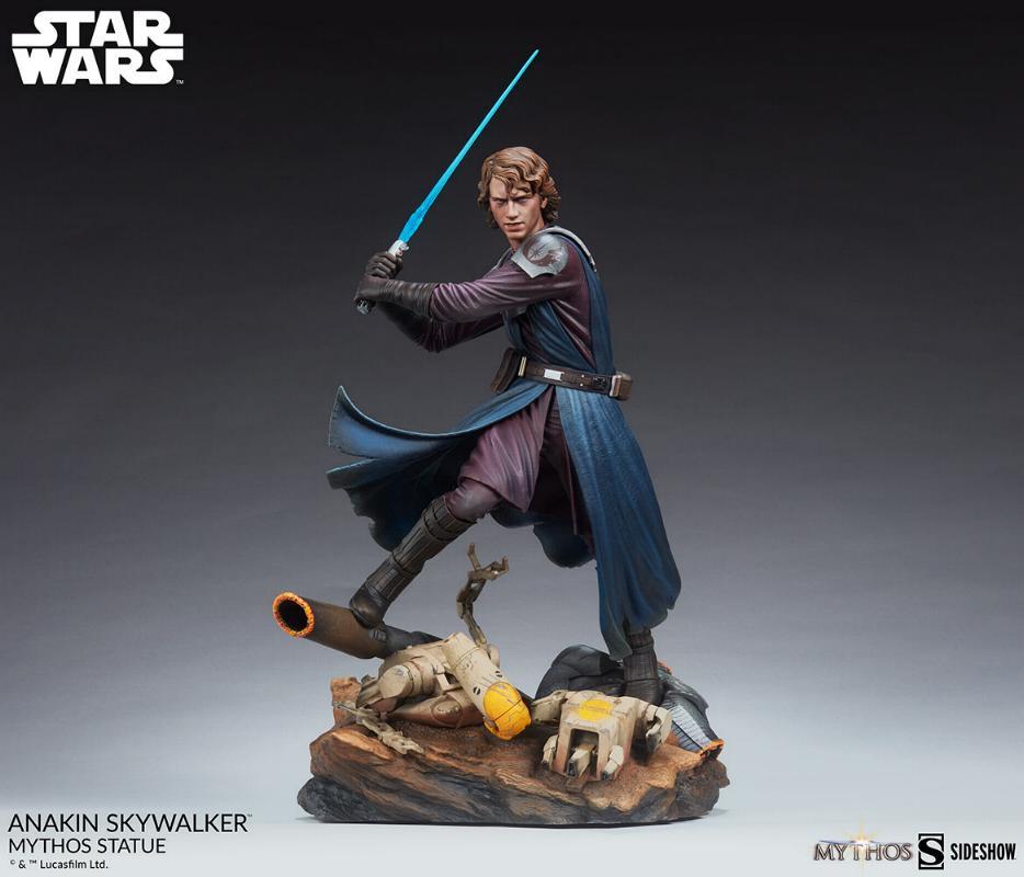 Anakin Skywalker Mythos Statue - Star Wars Sideshow Anaki105