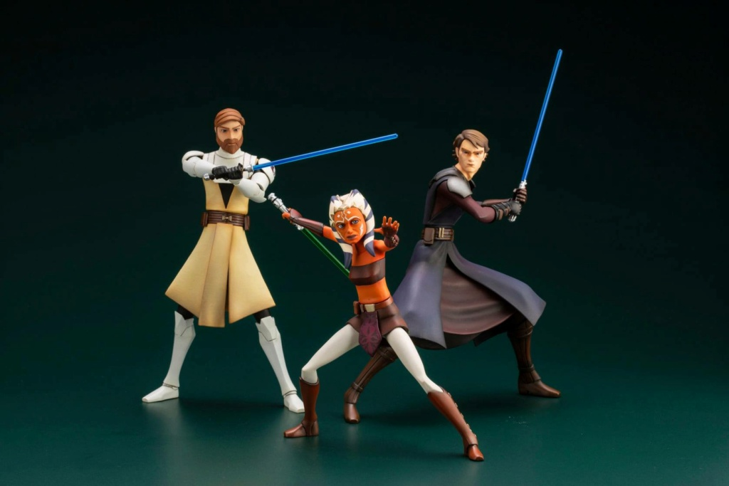 Obi-Wan Kenobi (TCW) ARTFX+ - Kotobukiya Anaki130